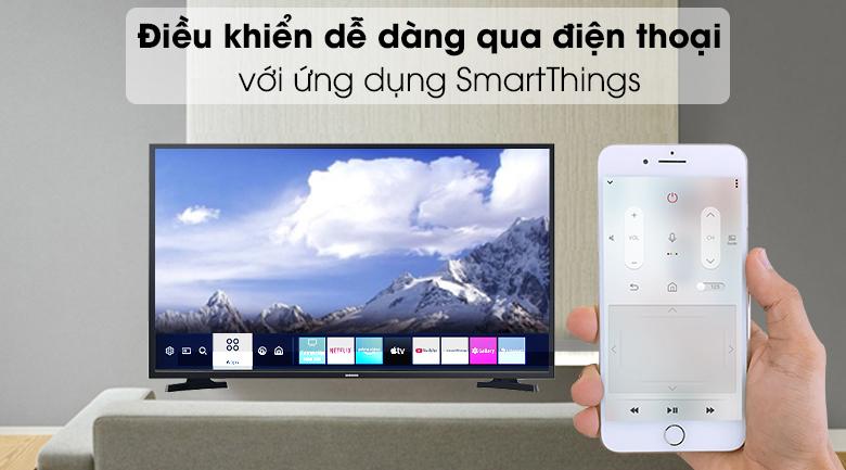 Smart Tivi Samsung 43 inch UA43T6000 - Điều khiển tivi bằng ứng dụng SmartThings