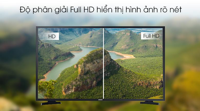 Smart Tivi Samsung 43 inch UA43T6000 - Độ phân giải Full HD