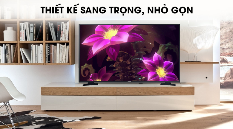 Smart Tivi Samsung 43 inch UA43T6000 - Thiết kế