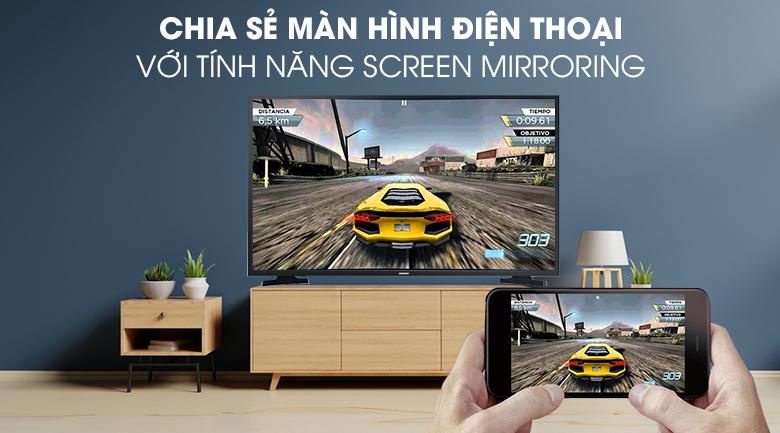 Smart Tivi Samsung 43 inch UA43T6000 - Tính năng Screen Mirroring