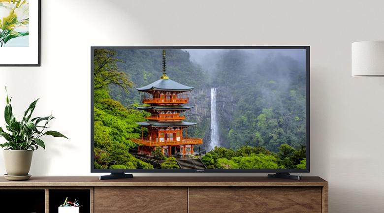 Smart Tivi Samsung 32 inch UA32T4500 - Thiết kế tối giản, chân đế cứng cáp