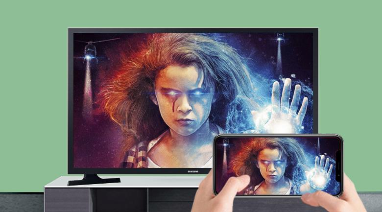 Smart Tivi Samsung 32 inch UA32T4500 - Hỗ trợ trình chiếu màn hình điện thoại lên tivi