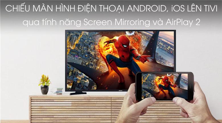Smart Tivi Samsung 32 inch UA32T4300 - Trinh chieu man hinh