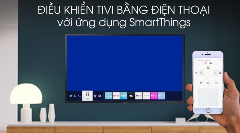 Smart Tivi QLED Samsung 4K 55 inch QA55Q60T - SmartThings