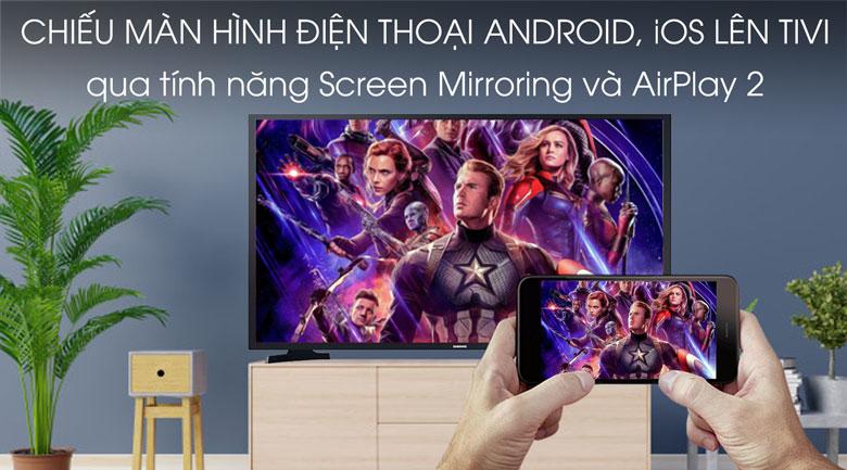 Smart Tivi Samsung 43 inch UA43T6500 - trinh chieu