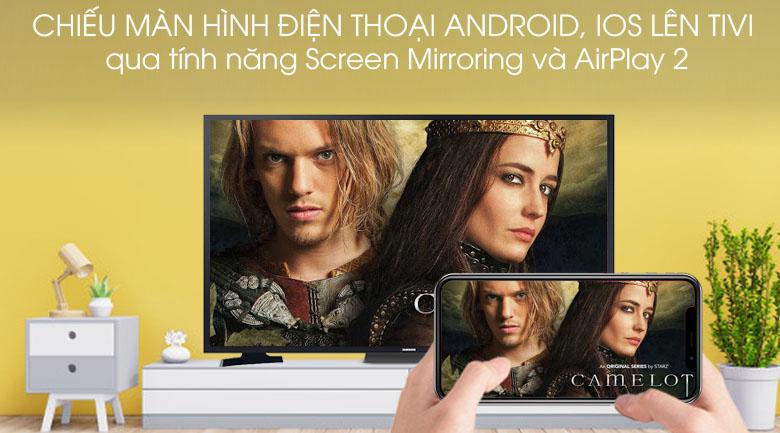 Smart Tivi Samsung 43 inch UA43T6500 - Chiếu màn hình