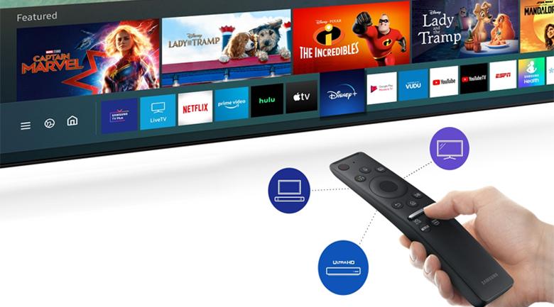 Smart Tivi Samsung 43 inch UA43T6500 - tim kiem giong noi