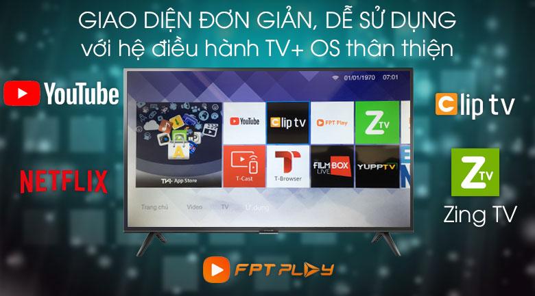 Smart Tivi Ffalcon 40 inch 40SF1 - TV+ OS