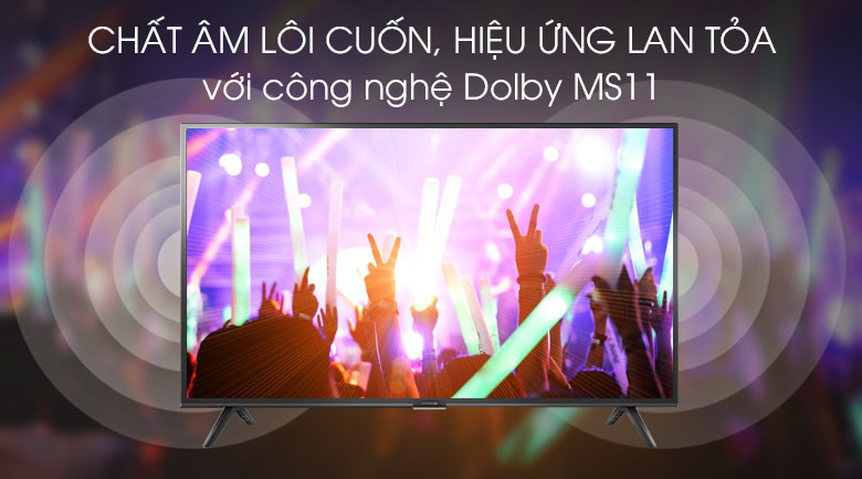 Smart Tivi Ffalcon 40 inch 40SF1 - Dolby MS11