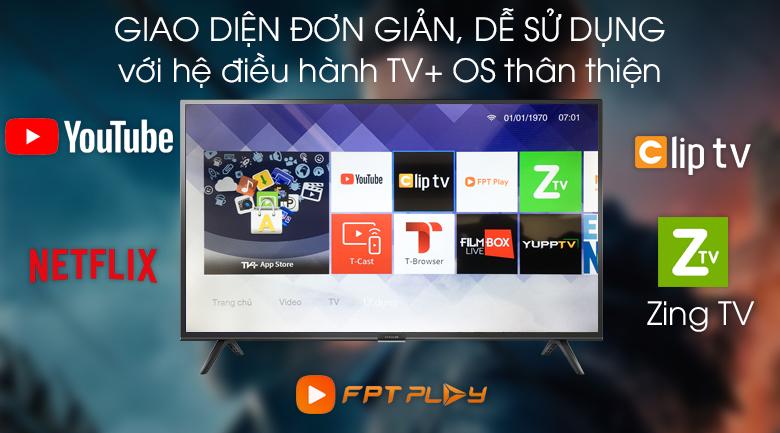 Smart Tivi FFalcon 43 inch 43SF1 - TV+ OS