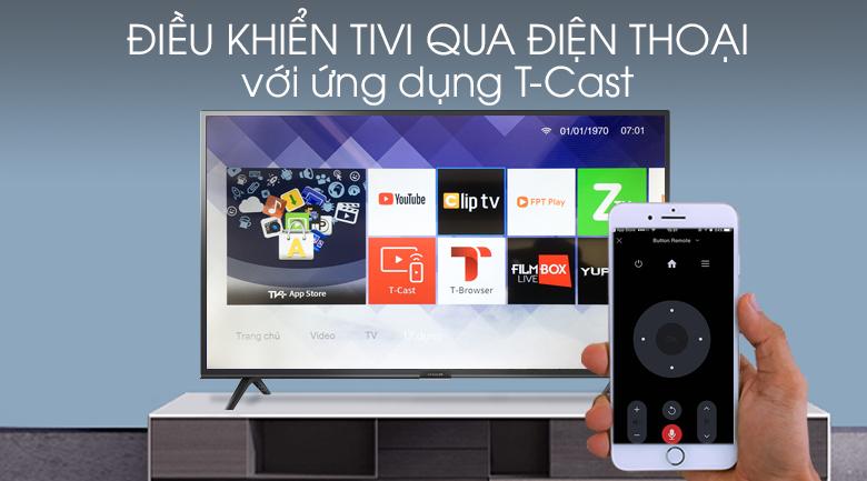 Smart Tivi FFalcon 43 inch 43SF1 - T-Cast