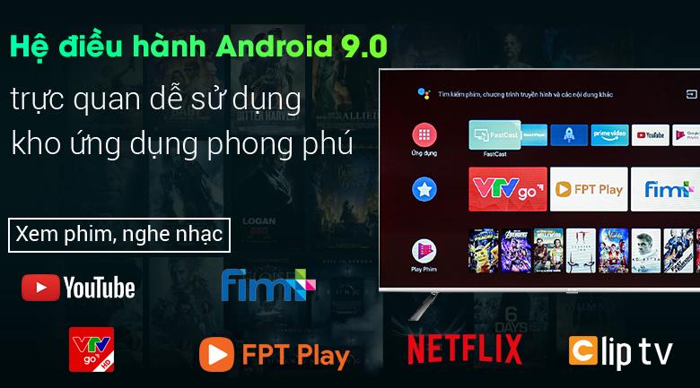 Android Tivi Casper 55 inch 55UG6000 - Hệ điều hành Android 9.0