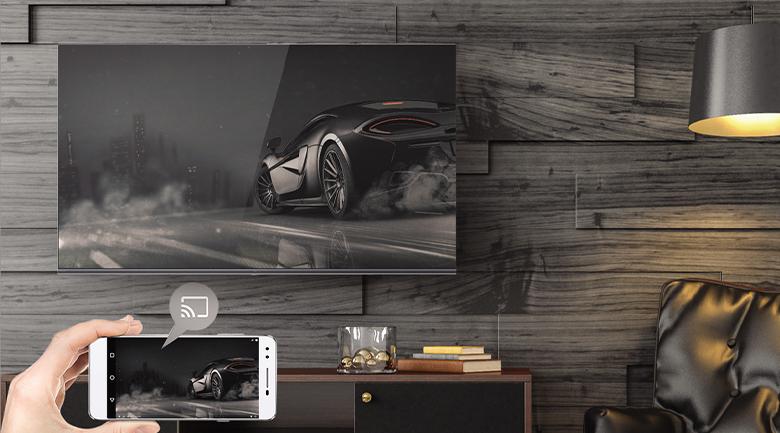 Chromecast - Android Tivi Casper 65 inch 65UG6000