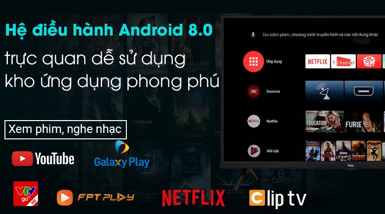 Android Tivi TCL 32 inch L32S66A - Hệ điều hành