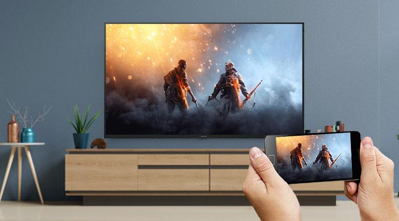 Chiếu màn hình Chromecast
