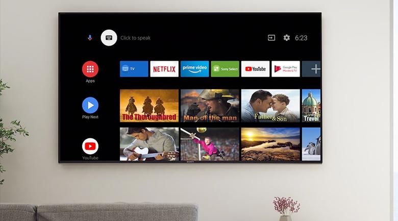 Hệ điều hành - Android Tivi Sony 4K 49 inch KD-49X8000H Mới 2020