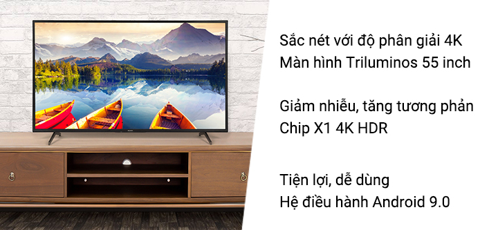"""Android TV 4K  55"""""""