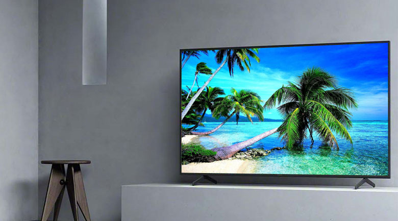 Android Tivi Sony 4K 55 inch KD-55X8000H - Thiết kế tinh giản