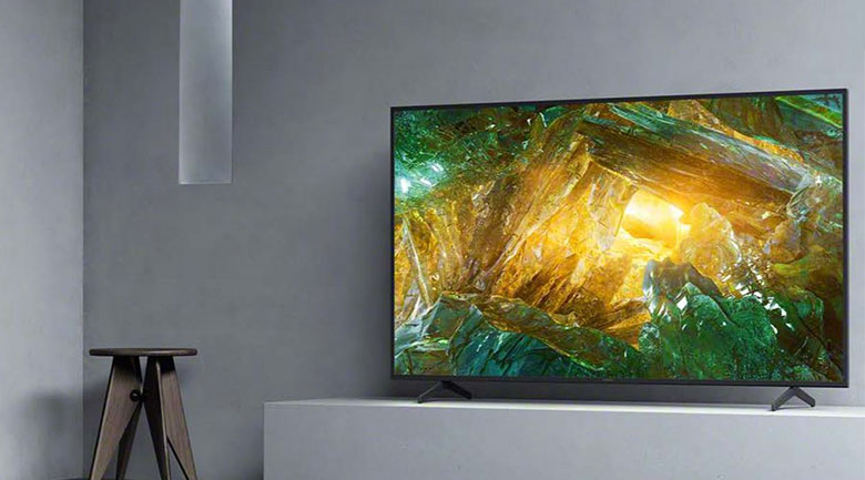 Android Tivi Sony 4K 65 inch KD-65X8000H - Thiết kế