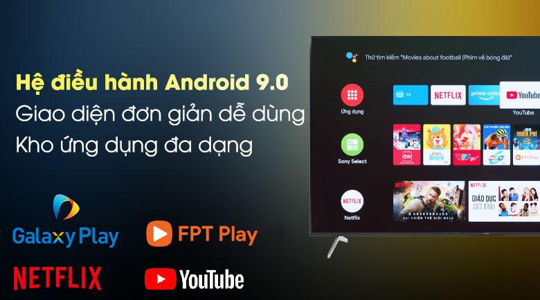 Android Tivi Sony 4K 75 inch KD-75X8000H - Hệ điều hành