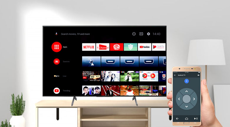 Android Tivi Sony 4K 75 inch KD-75X8000H - Android TV