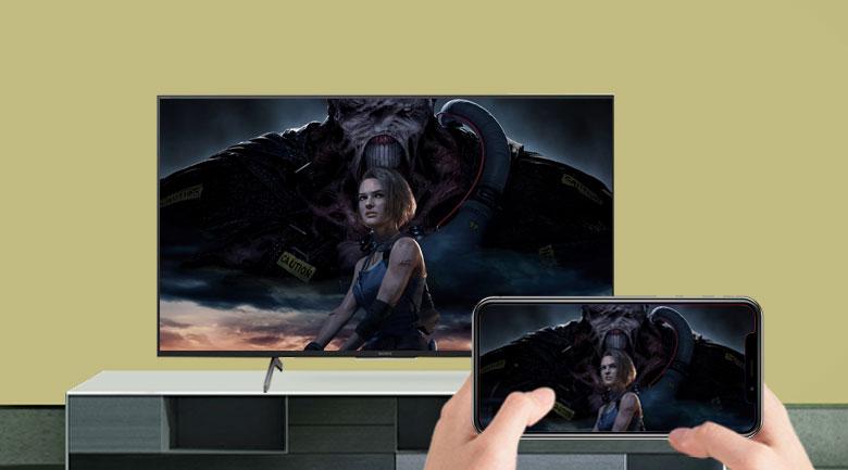 Android Tivi Sony 4K 75 inch KD-75X8000H - Apple Homekit/Apple Airplay