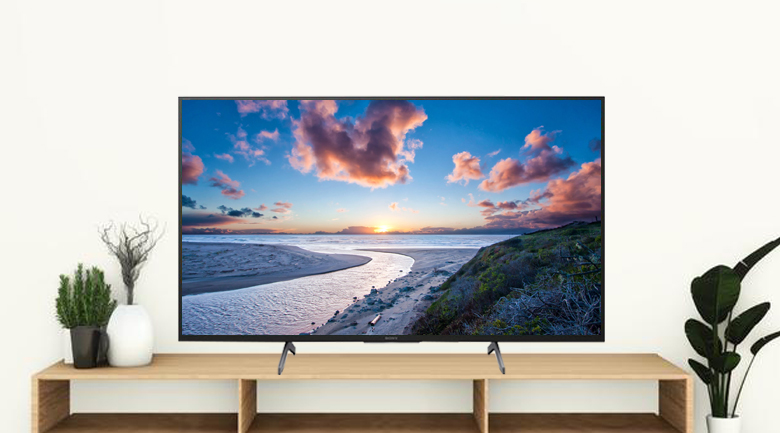 Android Tivi Sony 4K 75 inch KD-75X8000H - Thiết kế gọn đẹp