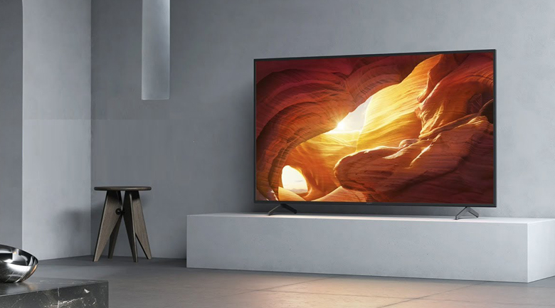 Android Tivi Sony 4K 85 inch KD-85X8000H - Thiết kế tối giản