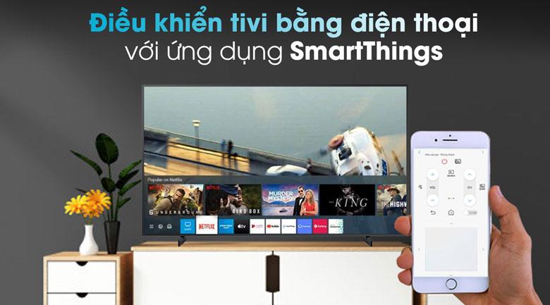 Smart Tivi QLED Samsung 4K 55 inch QA55LS03T - SmartThings