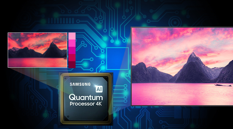 Smart Tivi QLED Samsung 4K 55 inch QA55LS03T - Quantum 4K Processor