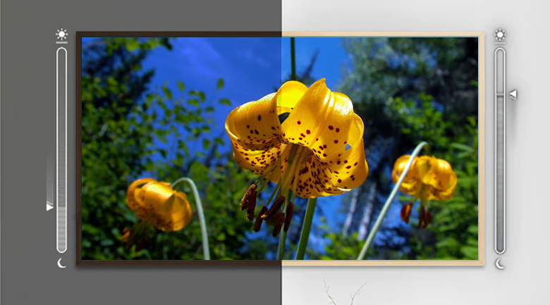 Smart Tivi QLED Samsung 4K 55 inch QA55LS03T - Adaptive Picture