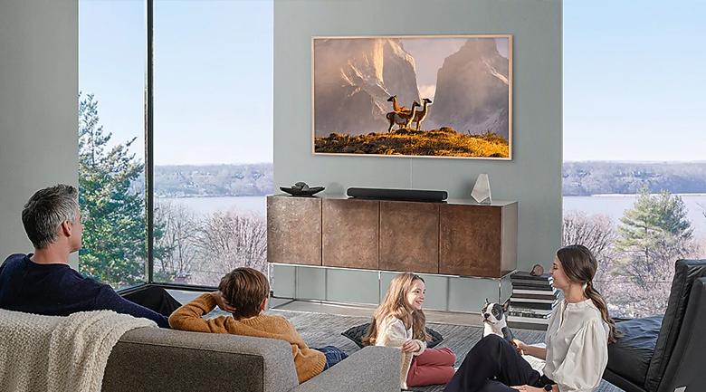 Smart Tivi QLED Samsung 4K 65 inch QA65LS03T - Thiết kế khung tranh tuyệt đẹp