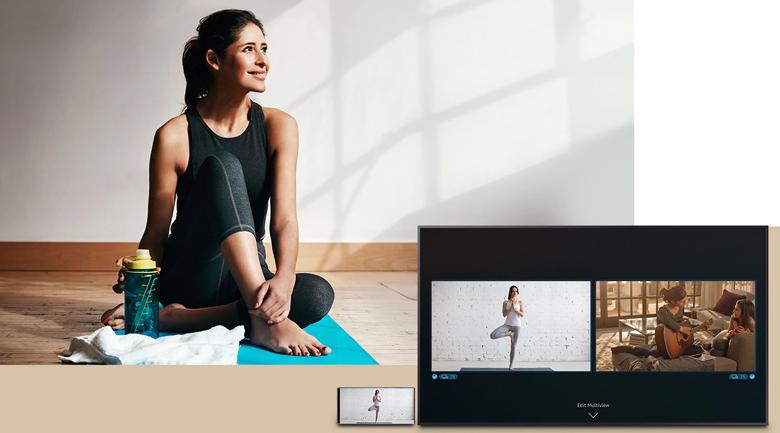 Smart Tivi QLED Samsung 4K 65 inch QA65LS03T - Multi View