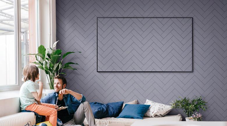 Smart Tivi QLED Samsung 4K 65 inch QA65LS03T - Ambient Mode