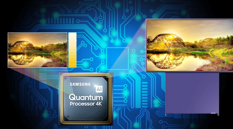 Smart Tivi QLED Samsung 4K 43 inch QA43LS05T - Quantum 4K Prosessor