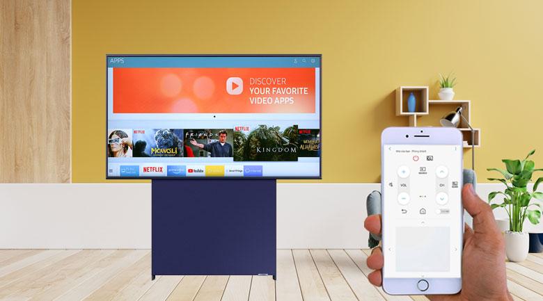 Smart Tivi QLED Samsung 4K 43 inch QA43LS05T - SmartThings