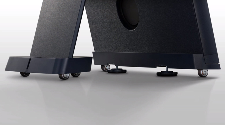 Smart Tivi QLED Samsung 4K 43 inch QA43LS05T - Di chuyển linh hoạt