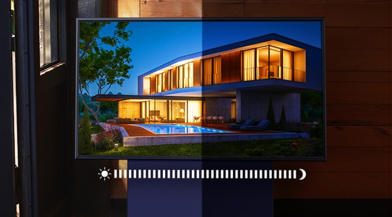 Smart Tivi QLED Samsung 4K 43 inch QA43LS05T - Adaptive Picture