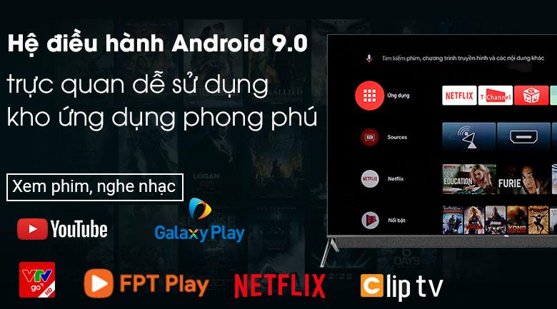 Android Tivi QLED TCL 4K 55 inch 55C815 - Hệ điều hành