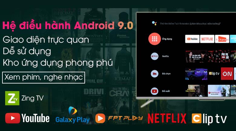 Android Tivi TCL 55 inch 55P715 - Hệ điều hành