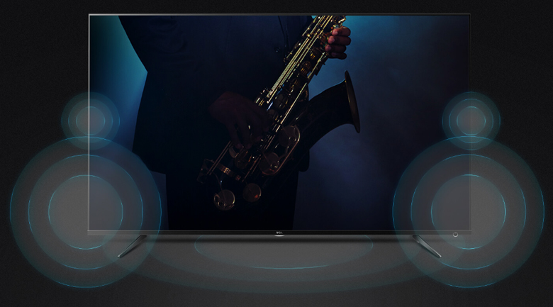 Android Tivi TCL 55 inch L55P715 - Dolby Audio