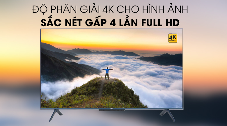Android Tivi QLED TCL 4K 50 inch 50Q716 : 4K
