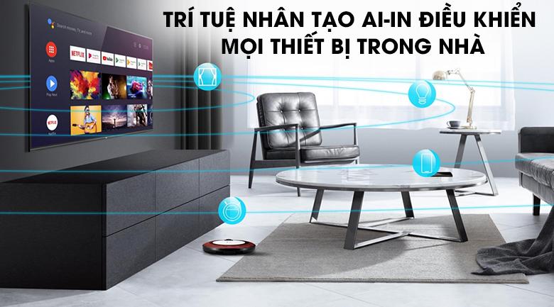 Android Tivi QLED TCL 4K 50 inch 50Q716: tính năng thông minh