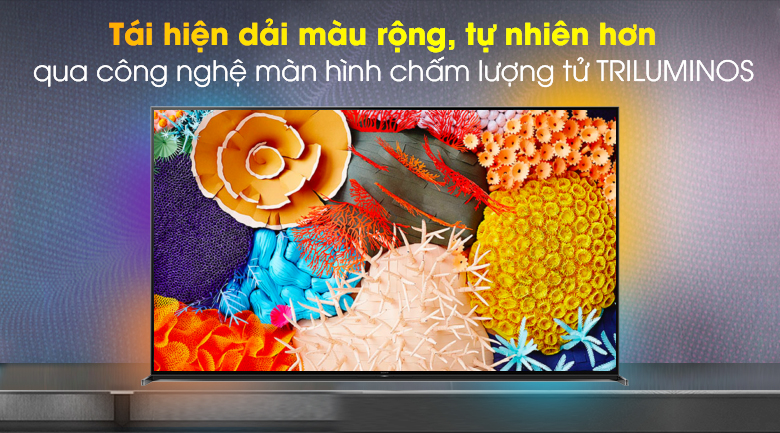 Android Tivi Sony 8K 85 inch KD-85Z8H - TRILUMINOS Display