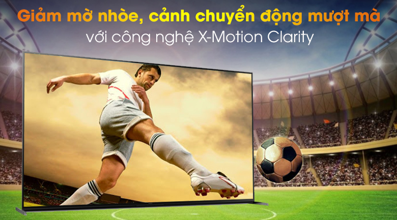 Android Tivi Sony 8K 85 inch KD-85Z8H - X-Motion Clarity