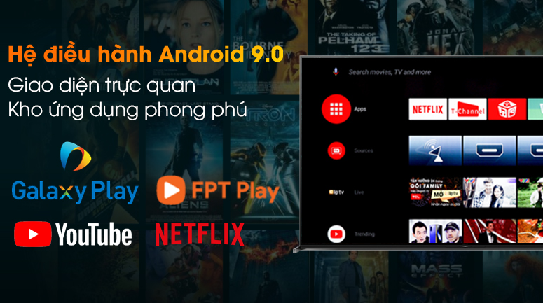 Android Tivi Sony 8K 85 inch KD-85Z8H - Android 9.0