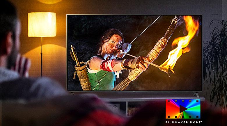 FilmMaker Mode - Smart Tivi LG 4K 43 inch 43UN7400PTA