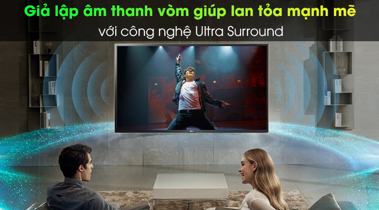 Ultra Surround - Smart Tivi LG 4K 43 inch 43UN7400PTA