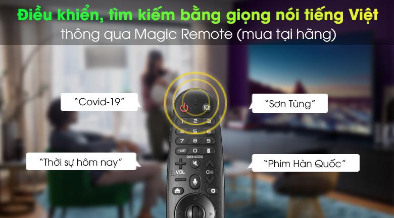 Magic Remote - Smart Tivi LG 4K 43 inch 43UN7400PTA