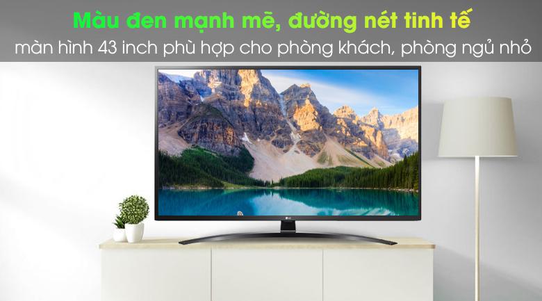 Thiết kế tinh tế - Smart Tivi LG 4K 43 inch 43UN7400PTA